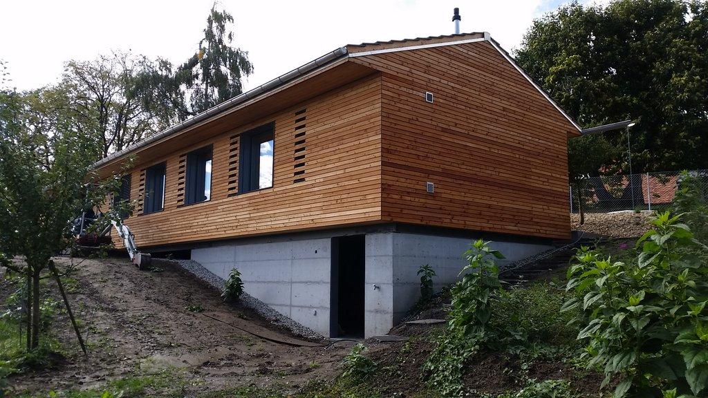 Construction d'une villa à Morrens villa complète
