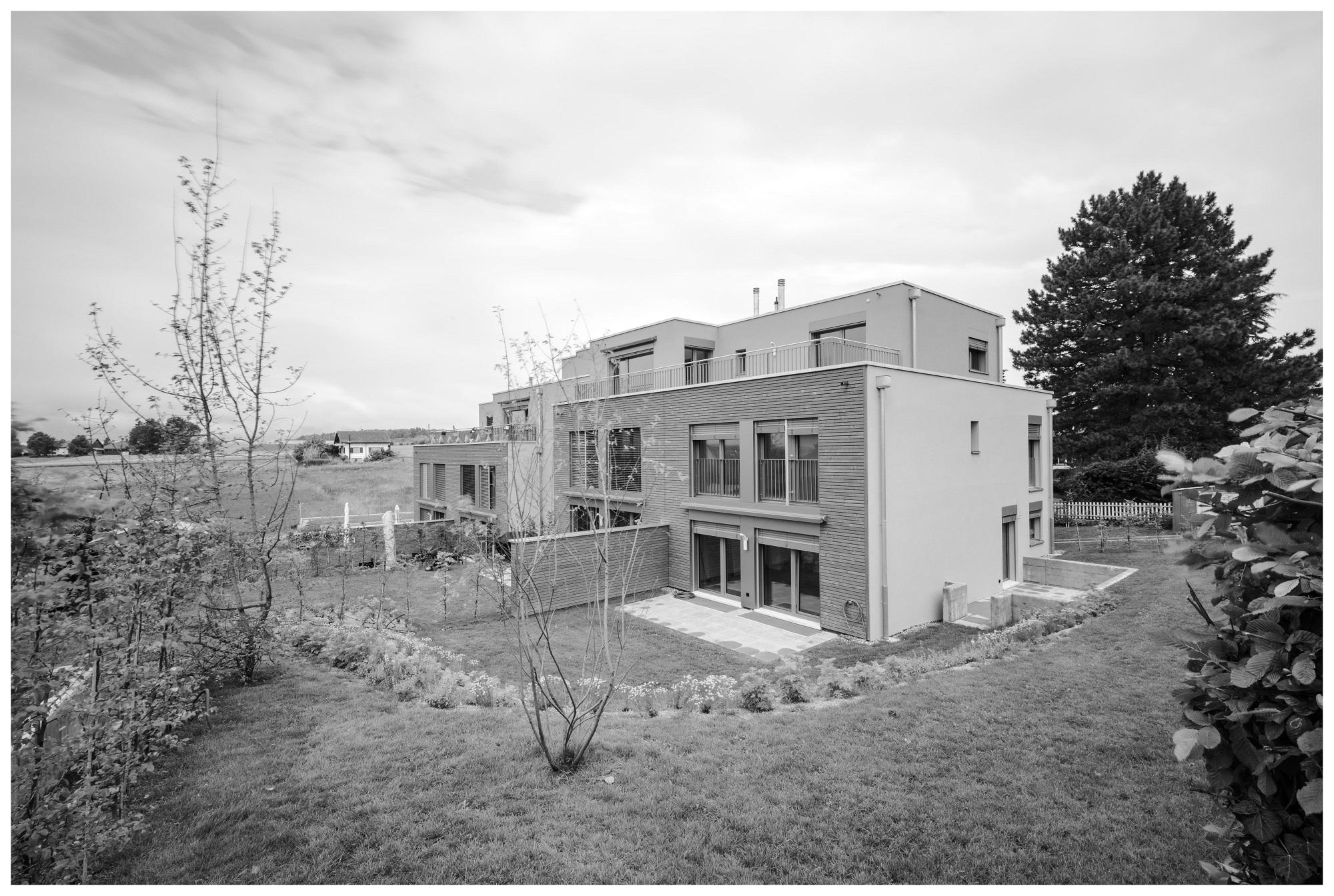 Construction de deux villas mitoyennes