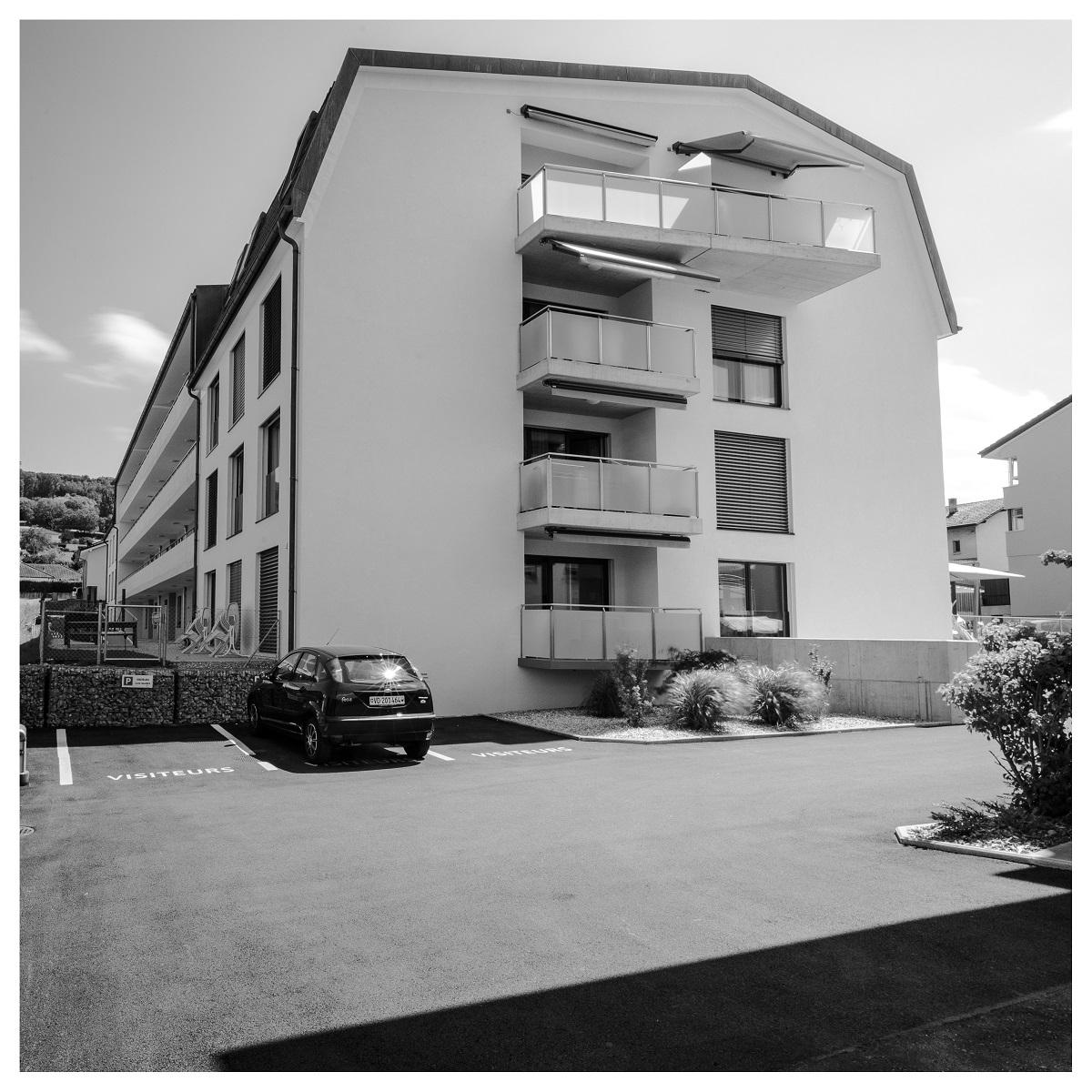 Immeuble d'appartements protégés à Yvonand
