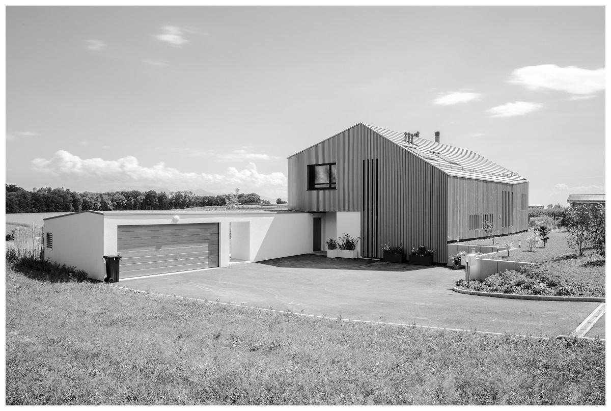 Construction d'une villa individuelle à Oulens