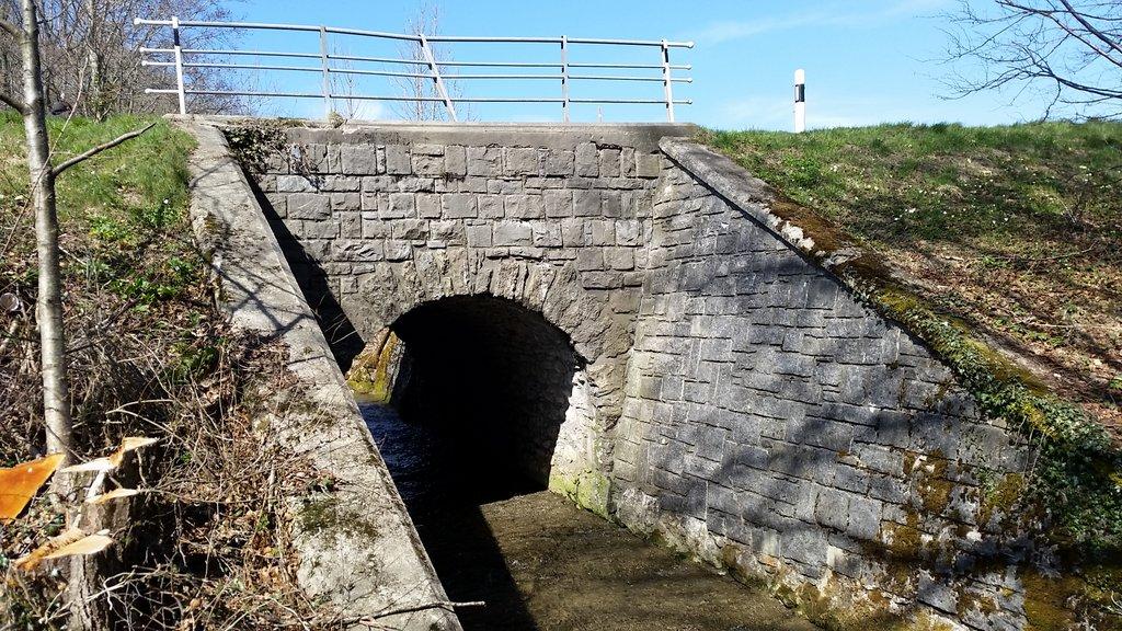 Elargissement du pont sur le Grenet
