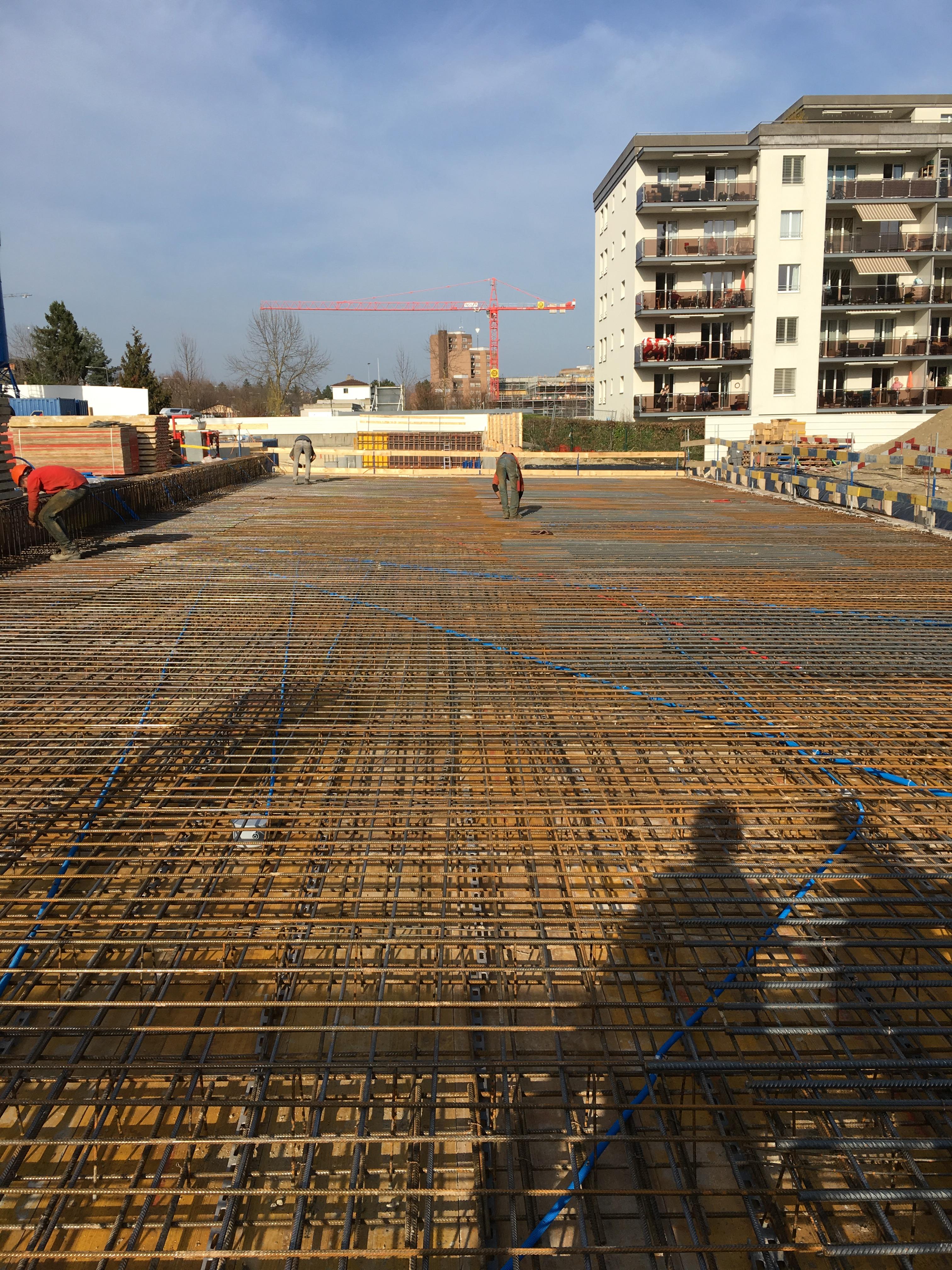 Construction d'un immeuble d'habitation en PPE de 40 appartements et garage souterrain - Bernard et Forestier