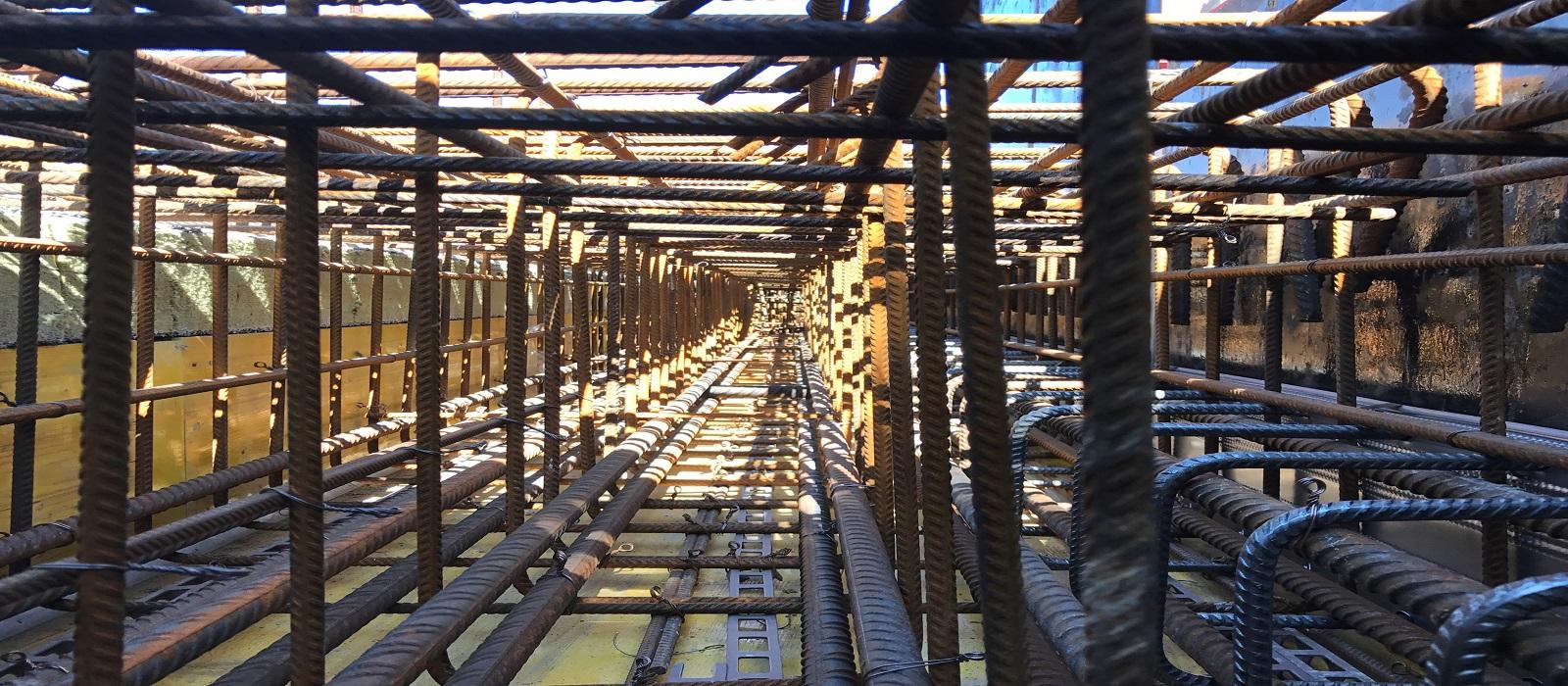 Structure en béton armé